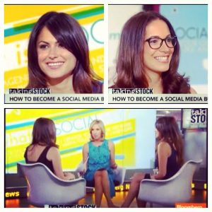 Courtney Spritzer and Stephanie Abrams on Bloomberg TV